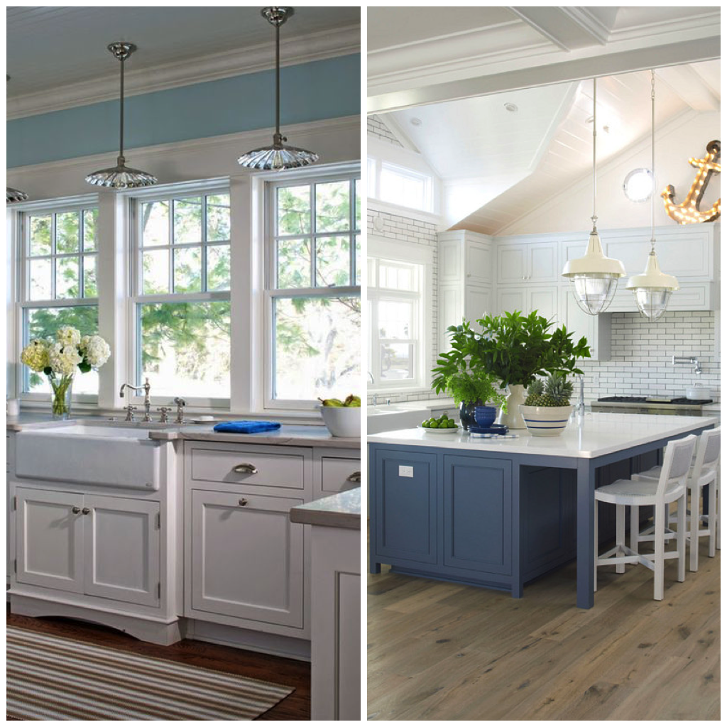 Muted Greens Are Also Popular Choices For A Nautical Or Beach Themed Kitchen,  And Look Good When Paired With White, Silver, Or Gray Color Schemes.