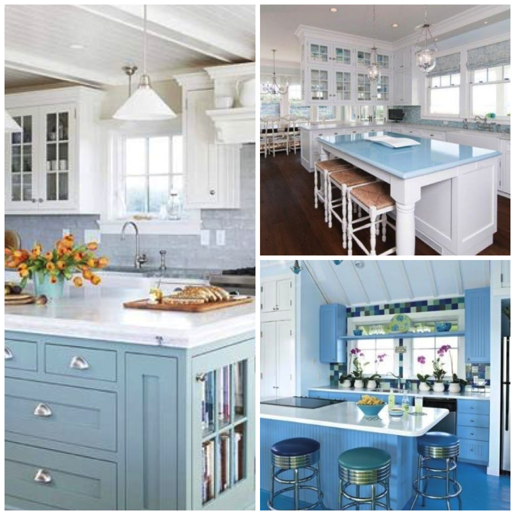 Gentil Muted Greens Are Also Popular Choices For A Nautical Or Beach Themed Kitchen,  And Look Good When Paired With White, Silver, Or Gray Color Schemes.