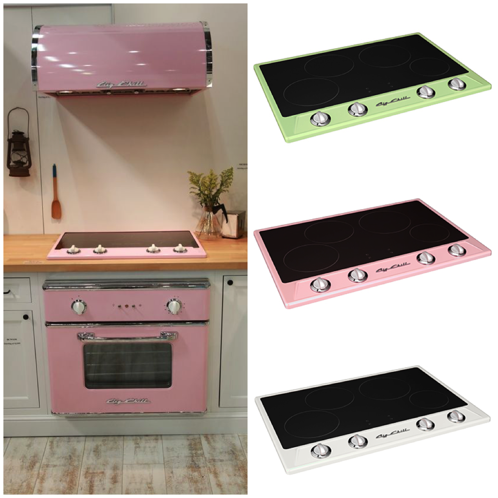 You Can Save Space By Using Smaller Scale Appliances, Like The Big Chill  Slim Refrigerator Or The Big Chill Retro Induction Cooktop. When Not In  Use, ...