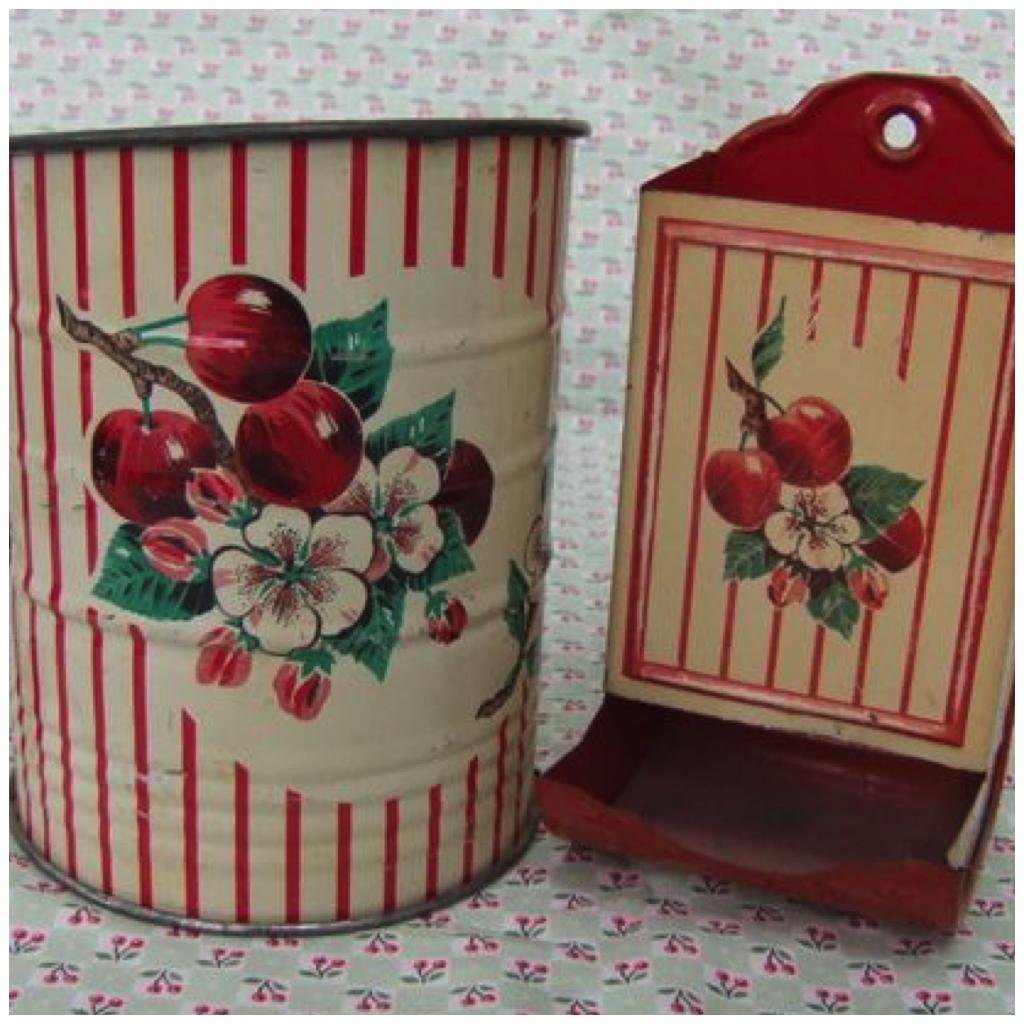 Vintage Red Prints