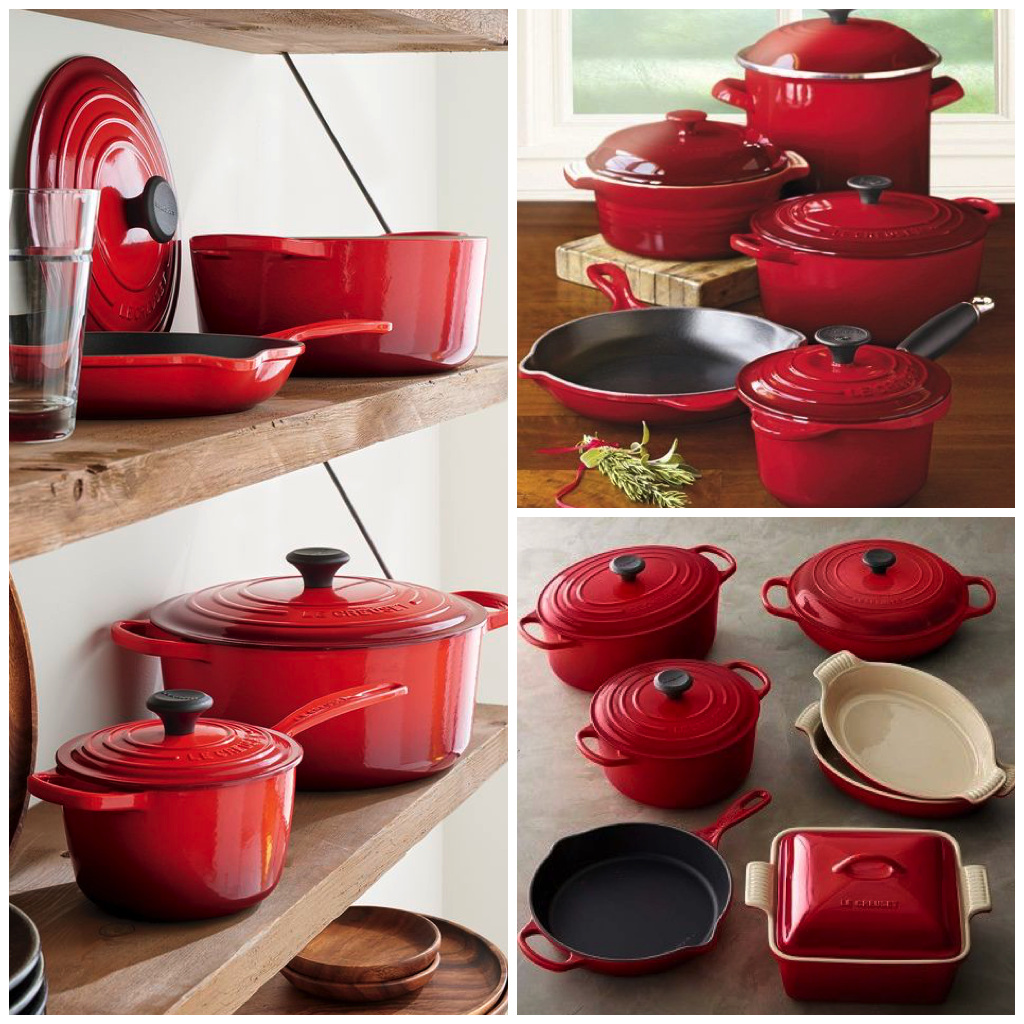 Red Cookware