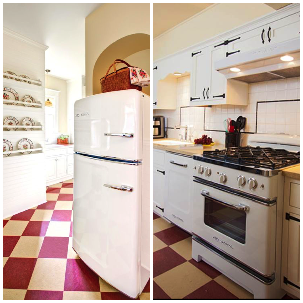 pair cherry red appliances with white cabinets walls or kitchen backsplashes  5 ways to use classic cherry red in your kitchen  rh   bigchill com