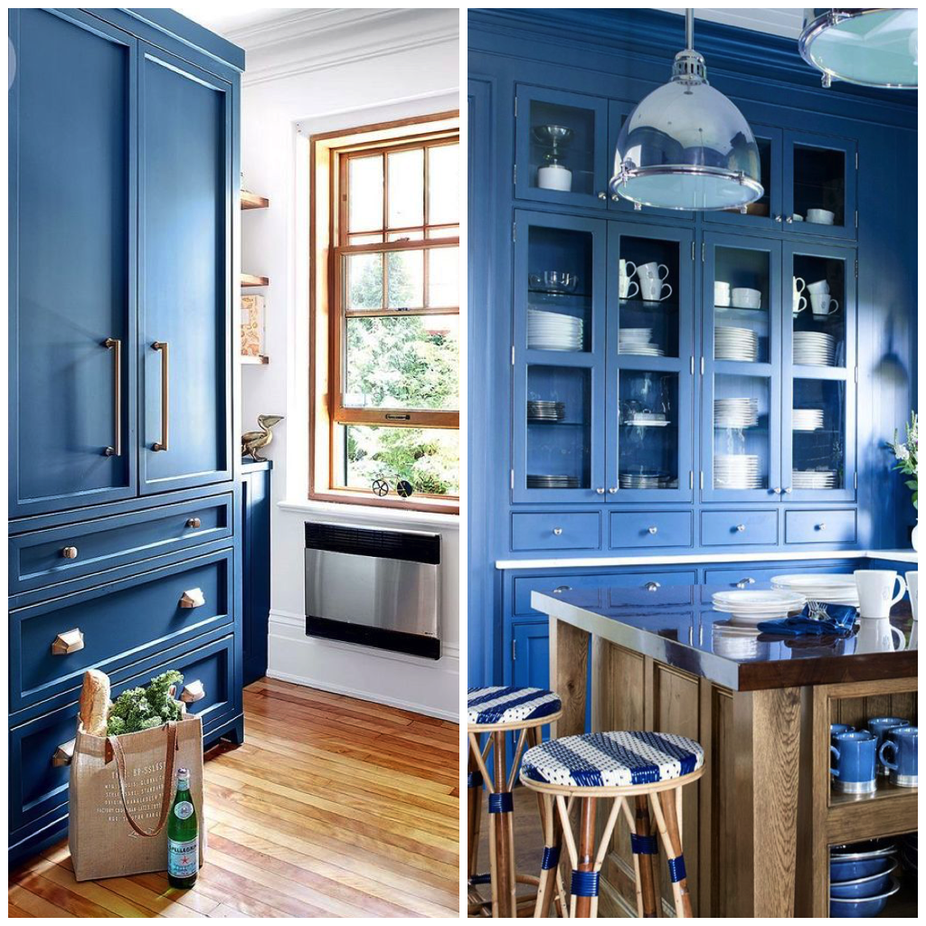 15 Inspirational Pictures of Sky Blue Kitchens & Homes