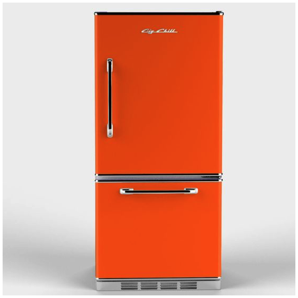Try Using An Orange Appliance In Your Kitchen, Like A Refrigerator Or A  Stove, To Add A Welcome Pop Of Color To Any Space. Pair With Complimentary  Colors ...