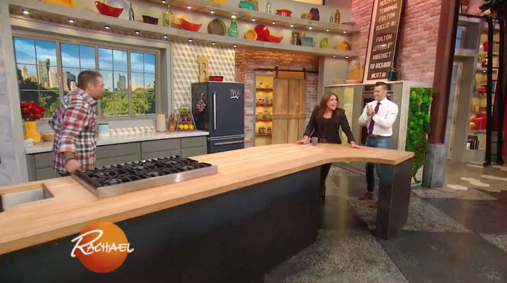 My Complete Kitchen Remodel Story For About 12 000: Big Chill Pro Fridge Is The Centerpiece Of Rachael Ray's