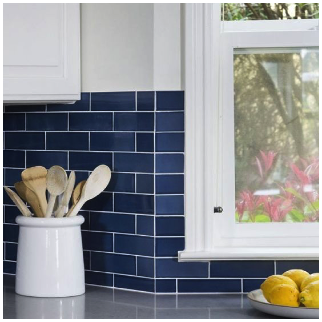 Or Keep It Traditional With Colored Subway Tiles Honeycomb Contrasted Bright White Cabinets And Rich Metallic Accents