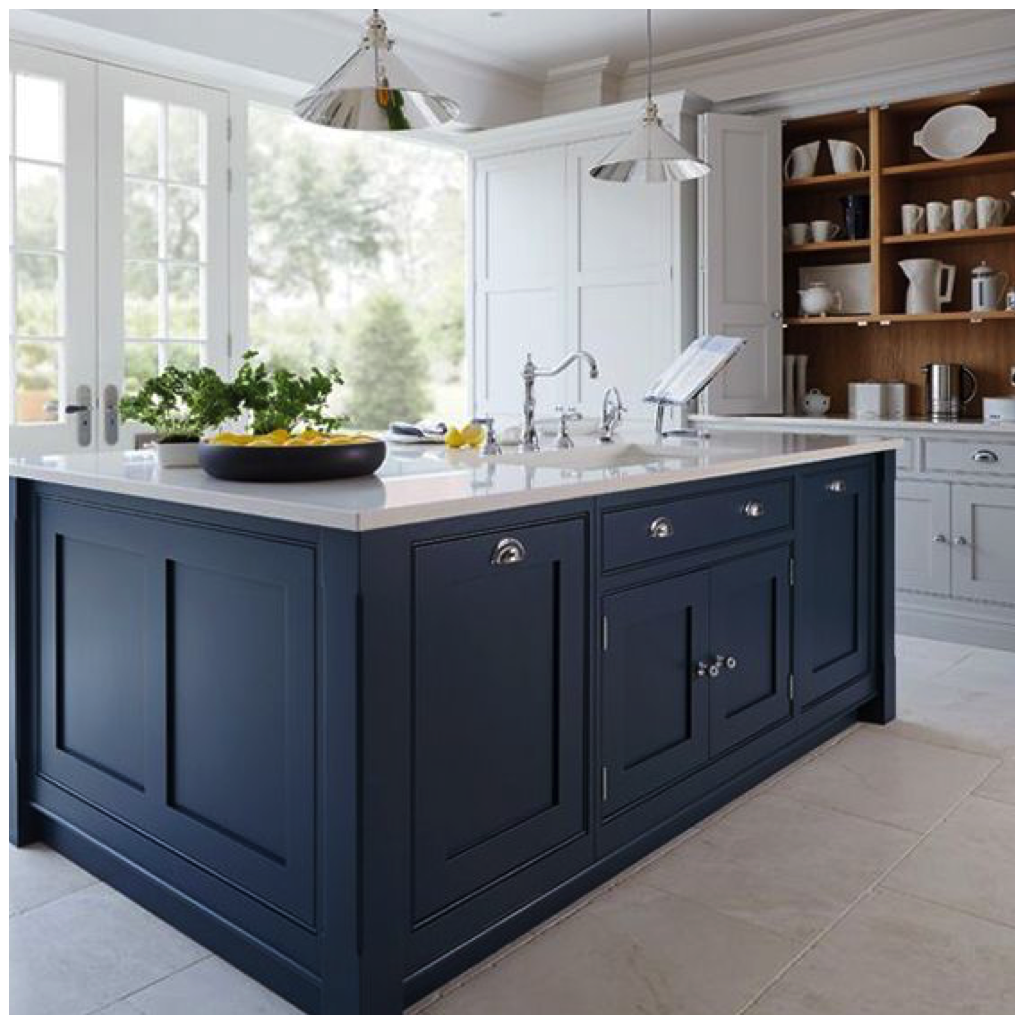 kitchen colors blue 4 ways to use navy blue in your kitchen 3388