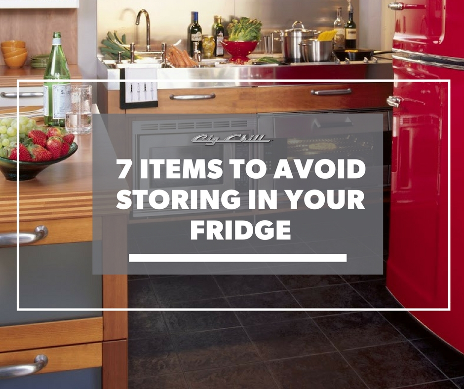 7 Items to Avoid Storing in Your Fridge