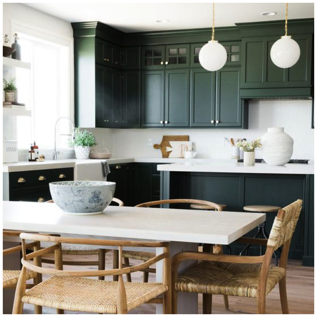 Inspiring Country Kitchen Paint Colors To Get Inspirations: Inspiring Kitchens In 5 Festive Holiday Colors
