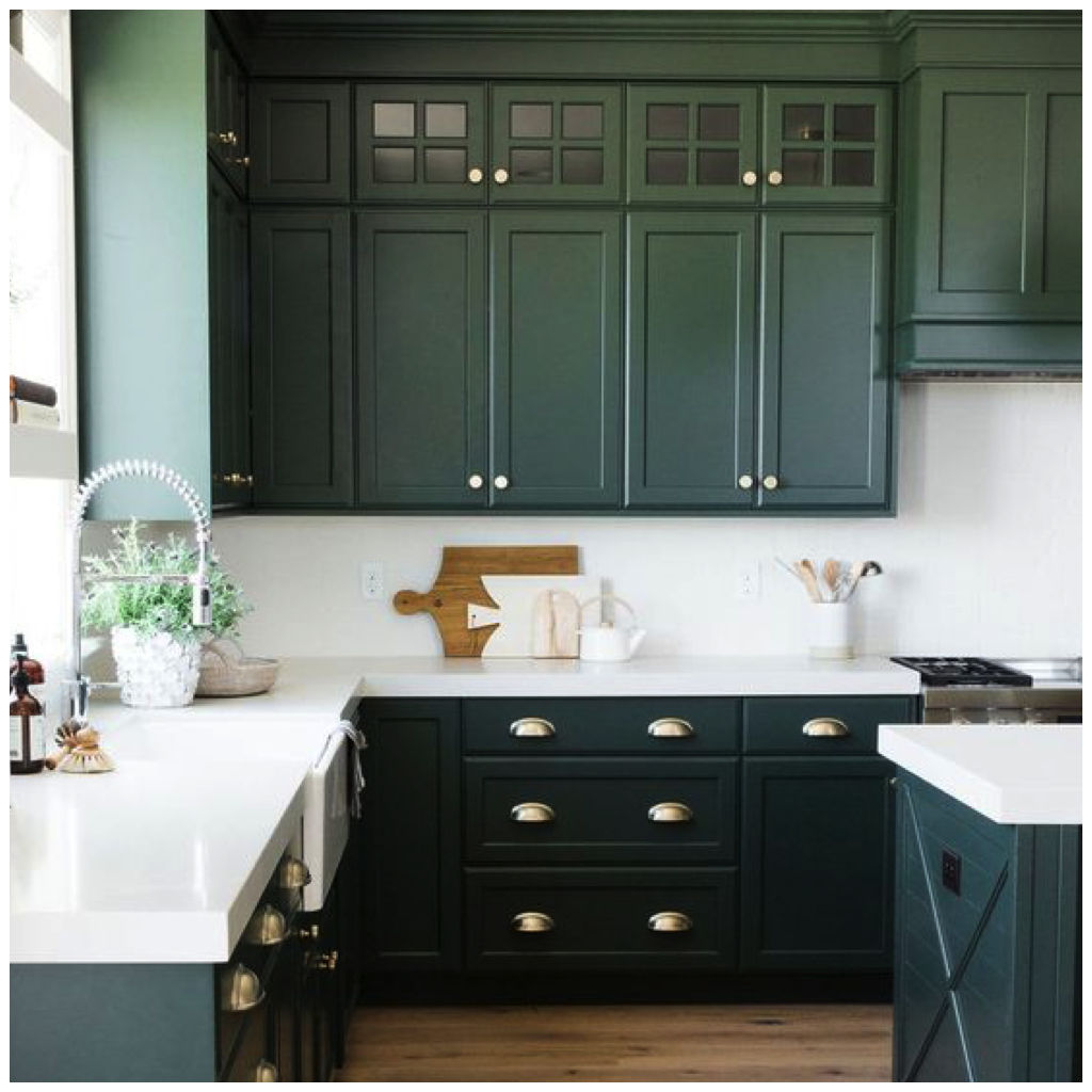 Simply Inspiring 10 Wonderful Kitchen Design Lines That: Pictures Hunter Green Kitchen Cabinets