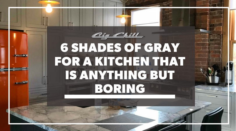 6 Shades of Gray for a Kitchen That is Anything but Boring