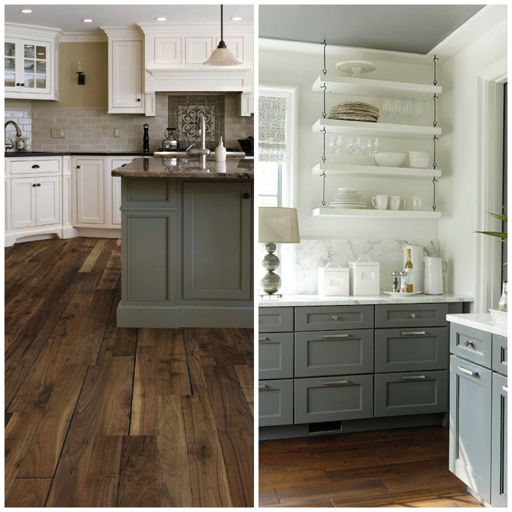 Green Gray Creates A Calming Atmosphere In Your Kitchen Especially When Paired With Coordinating Tones Like White Tan Dove Or Brown