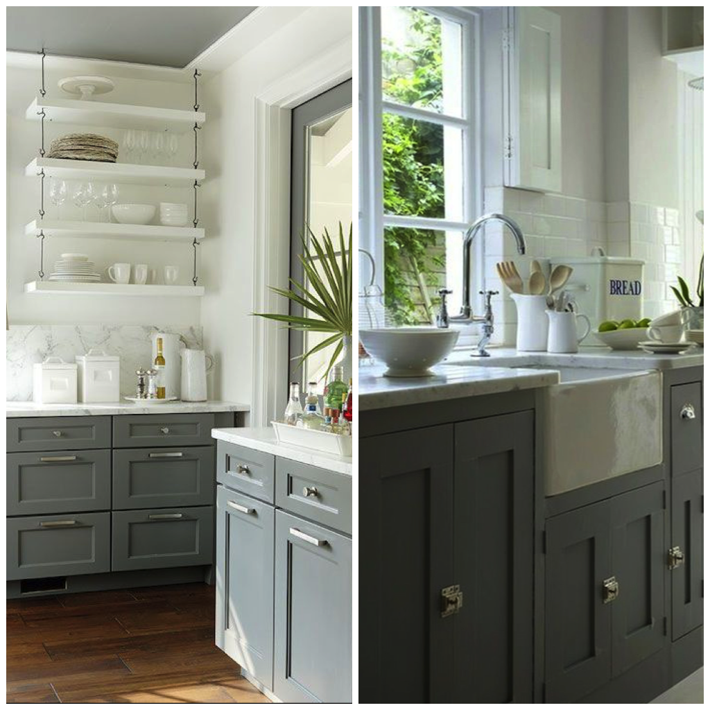 Green And Gray Kitchen: 6 Shades Of Gray For A Kitchen That Is Anything But Boring
