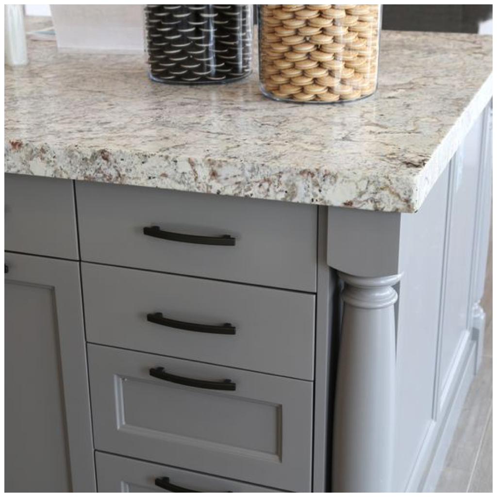 Shades Of Gray For A Kitchen That Is Anything But Boring - Gray cabinets with marble countertops