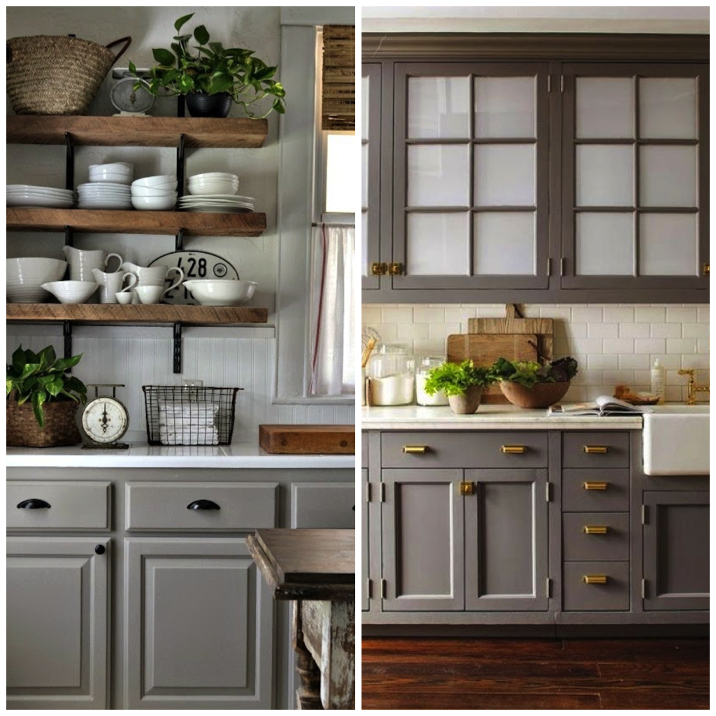 Black Kitchen Cabinets What Color On Wall: 6 Shades Of Gray For A Kitchen That Is Anything But Boring