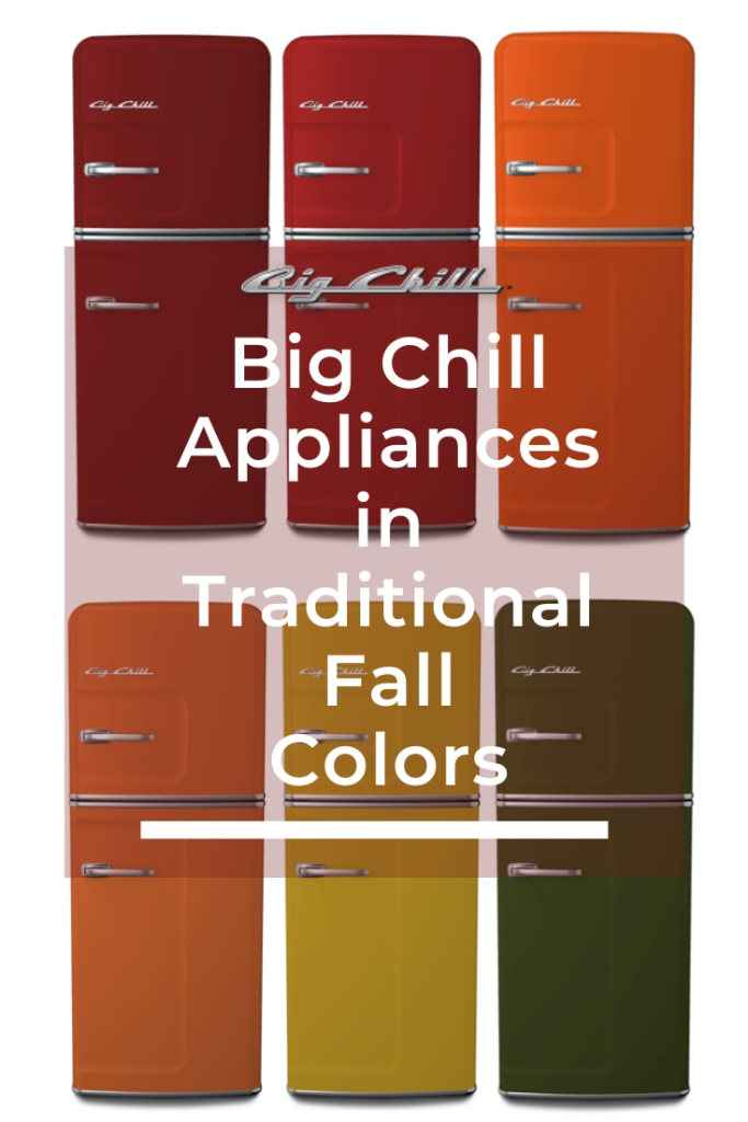 Big Chill Appliances in Traditional Fall Colors