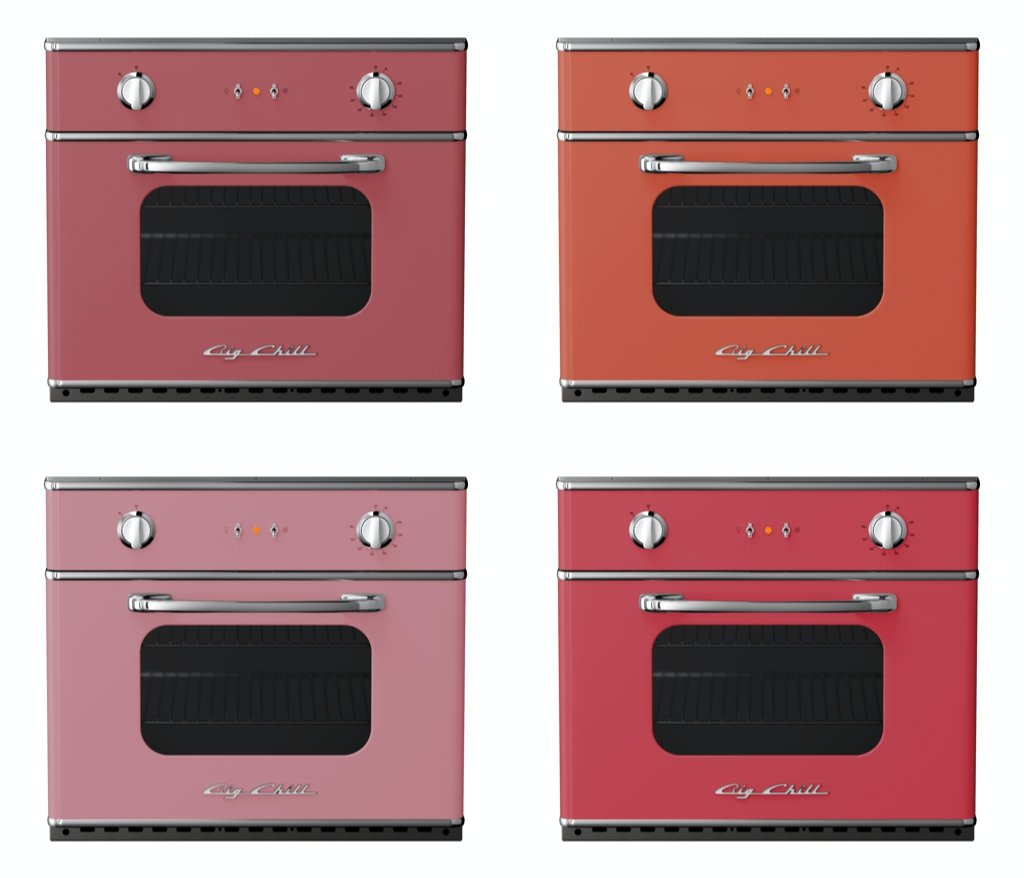 Big Chill Appliances in Warm Pink Shades