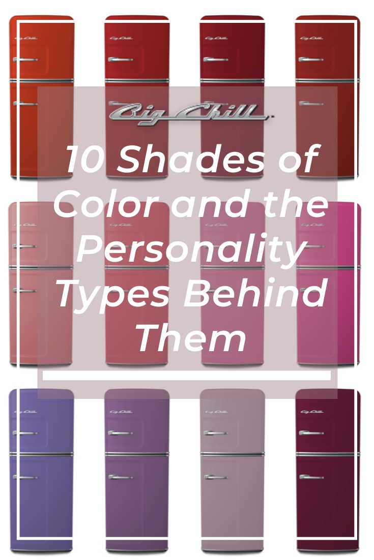 10 Shades of Color & the Personality Types Behind Them