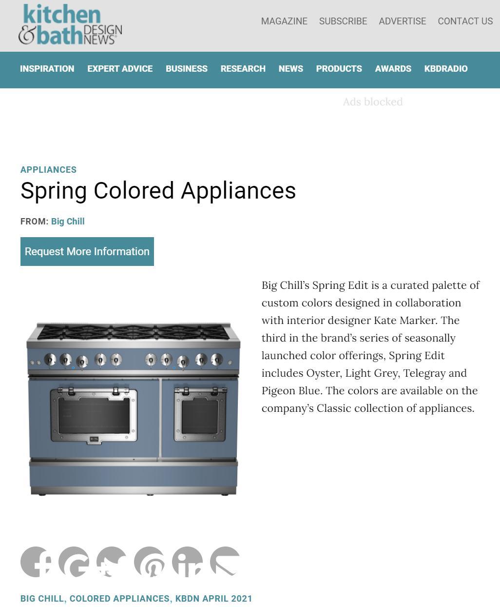 Kitchen & Bath Design News Online - April 2021