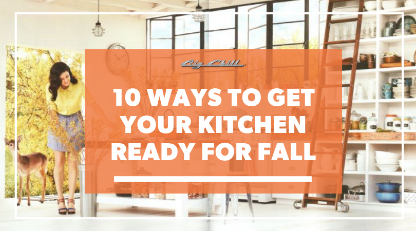 10 Ways to Get Your Kitchen Ready for Fall