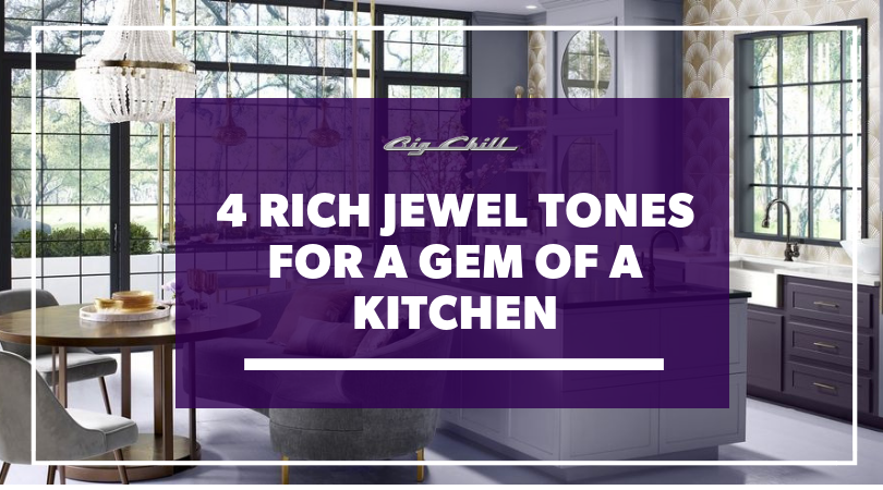 4 Rich Jewel Tones for a Gem of a Kitchen