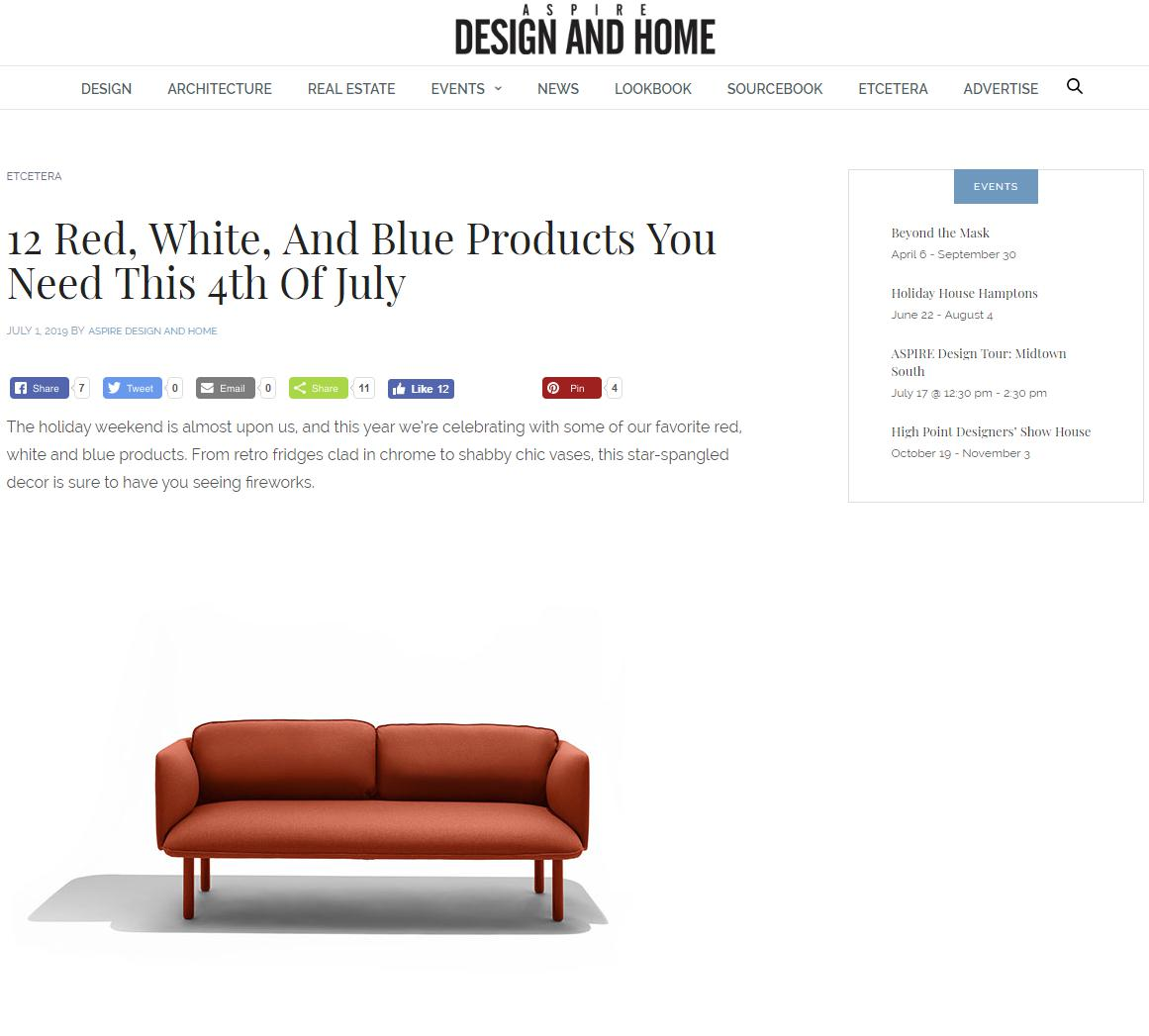 ASPIRE Design + Home Online – July 1st, 2019