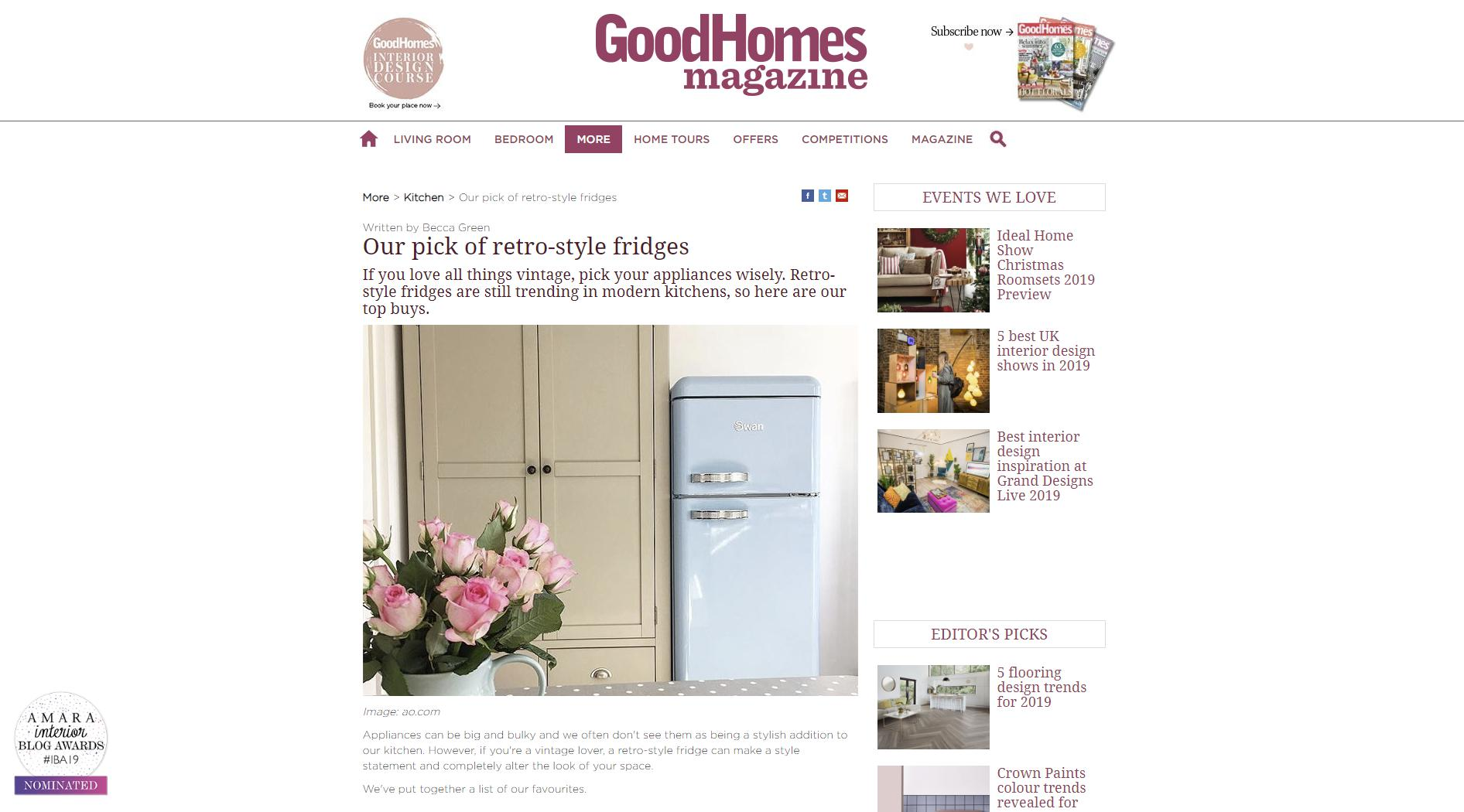 Good Homes Magazine – October 9th, 2019