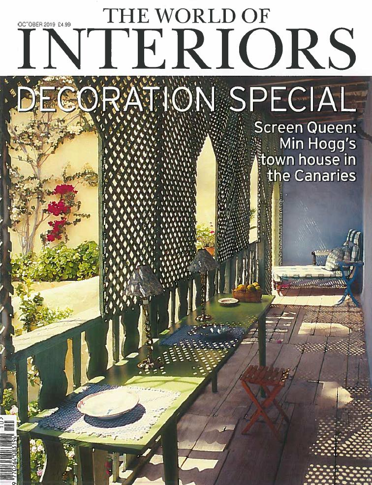 World of Interiors – October 2019