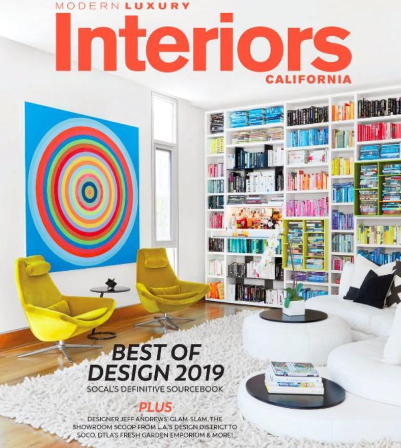 Modern Luxury Interiors California – Winter 2019