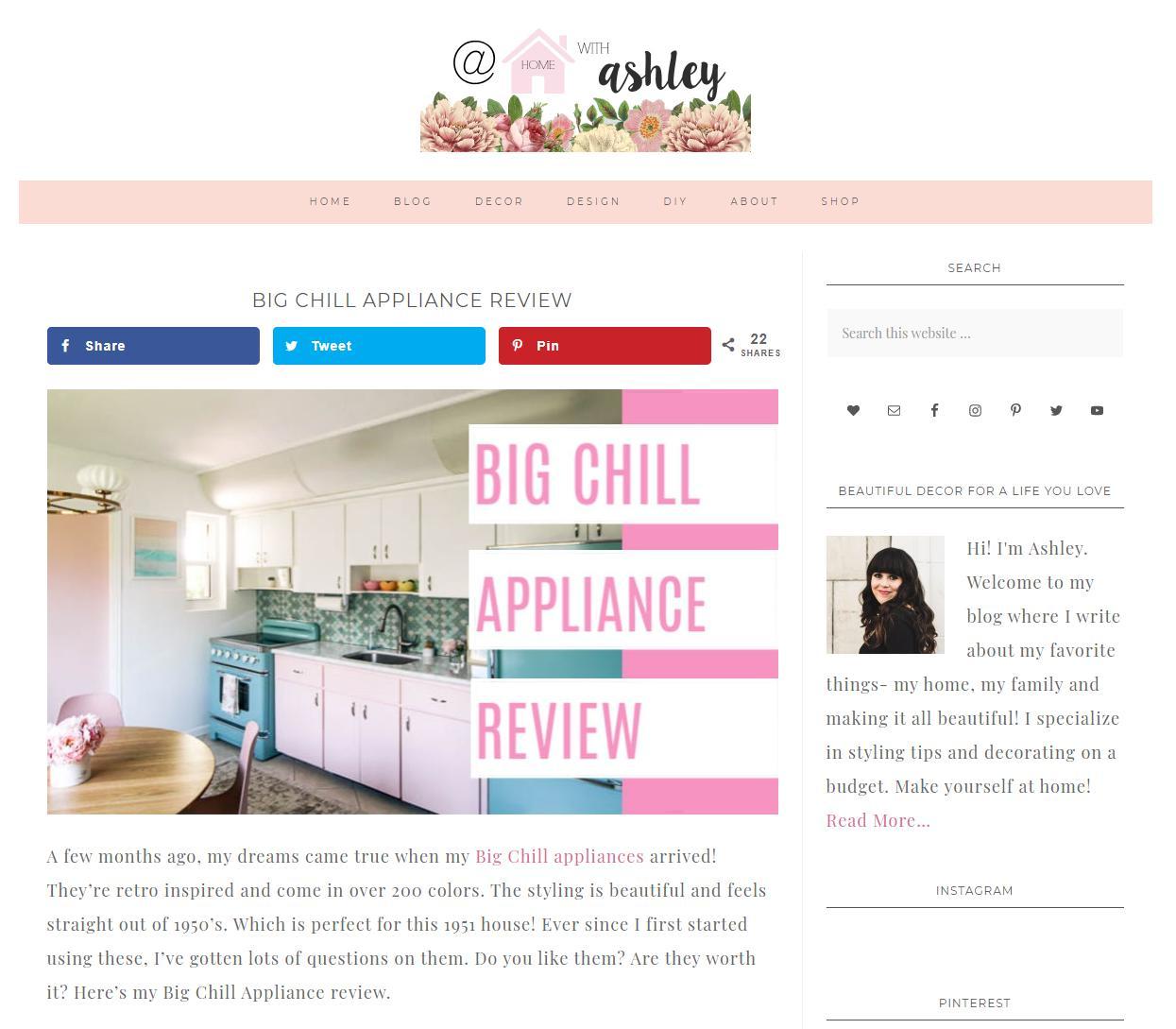 At Home with Ashley Blog – May 7th, 2020