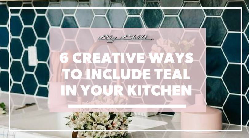 6 Creative Ways to Include Teal in Your Kitchen