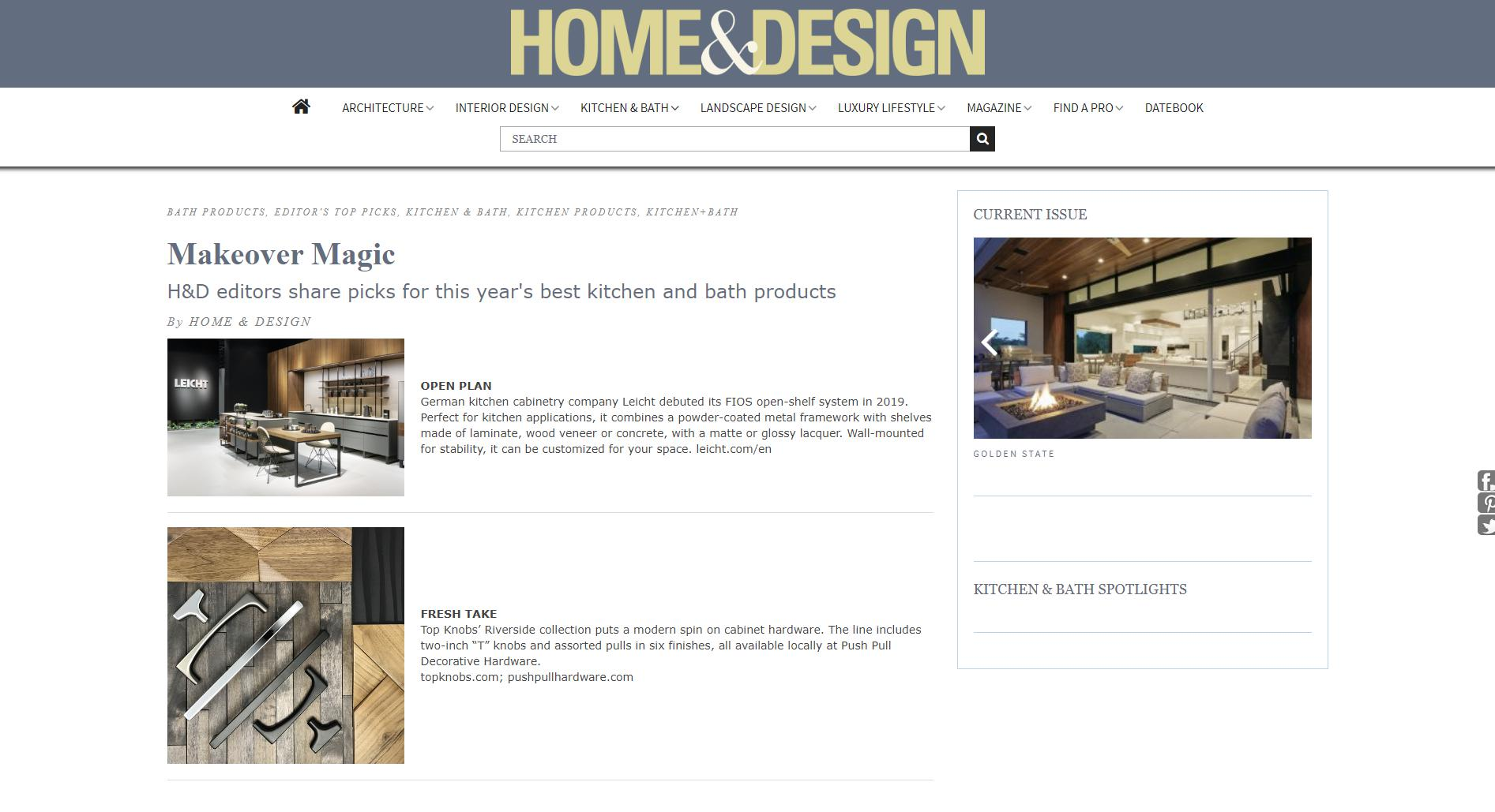 Home & Design Online – October 1st, 2019