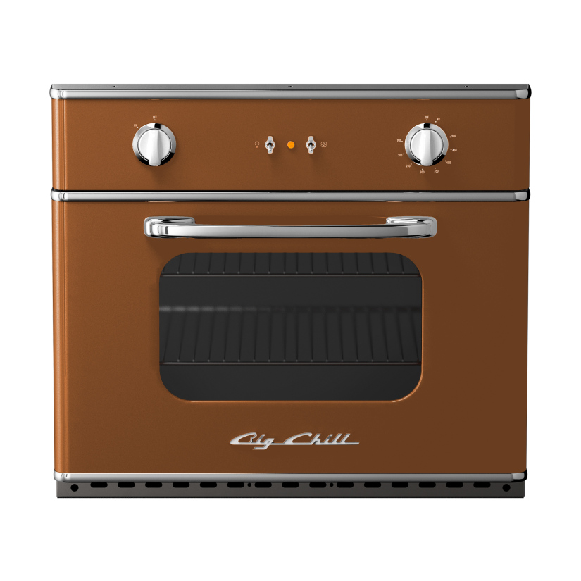 Big Chill 30 Electric Wall Oven in #8003 Clay Brown