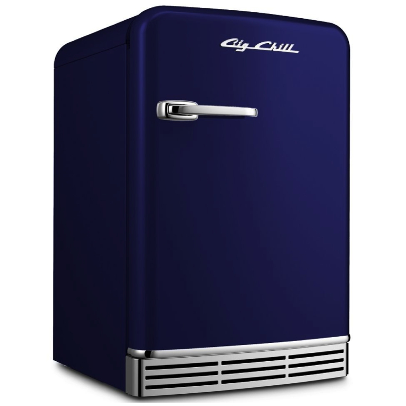 Big Chill Mini Refrigerator in Cobalt Blue