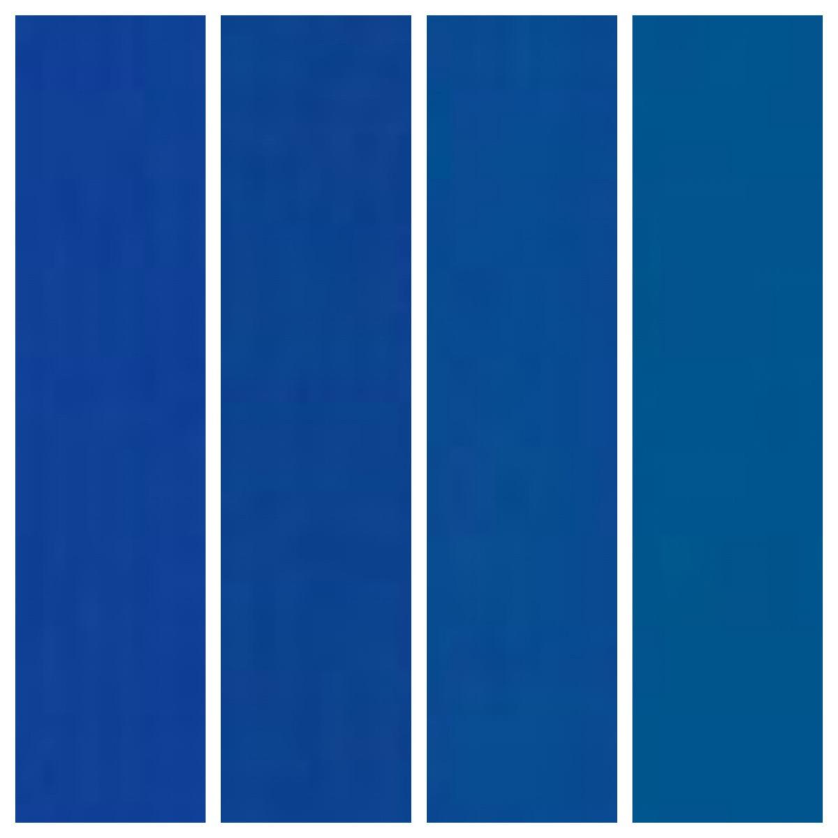 Big Chill custom colors: 5005 Signal Blue, 5010 Gentian Blue, 5017 Traffic Blue, 5019 Capri Blue