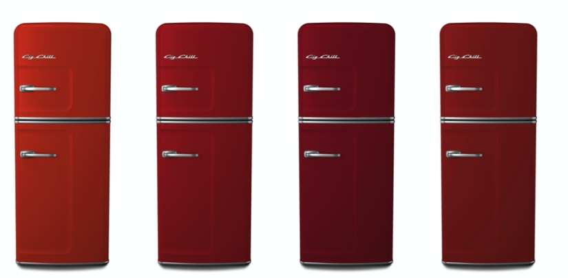 Big Chill Custom Colors: 2002 Vermillion, 3002 Carmine Red, 3003 Ruby Red, 3013 Tomato Red