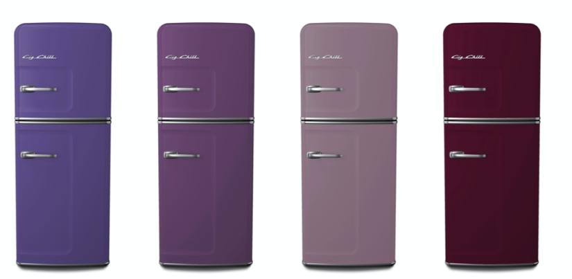 Big Chill Custom Colors: 4005 Blue Lilac, 4001 Red Lilac, 4009 Lavender, 4007 Purple Violet