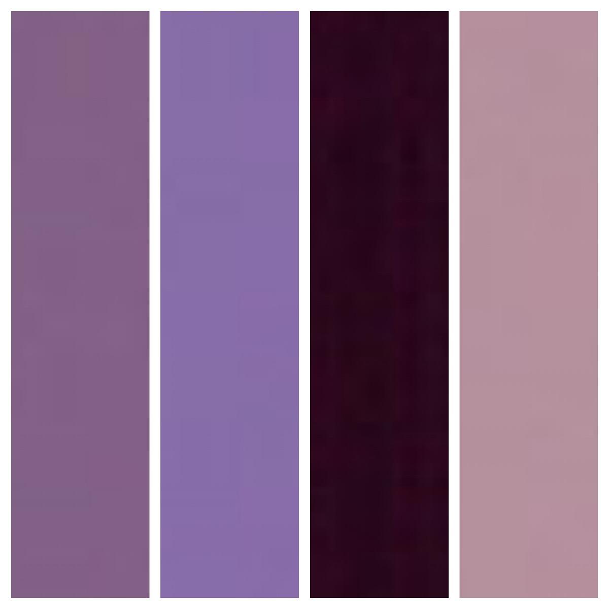 Big Chill custom colors: 4001 Red Lilac, 4005 Blue Lilac, 4007 Purple Violet, 4009 Lavender