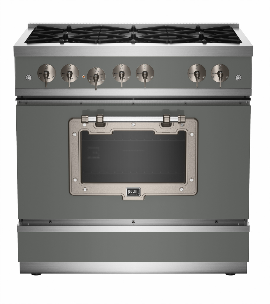 Classic 36″ Stove in Custom Color #7005 Mouse Gray