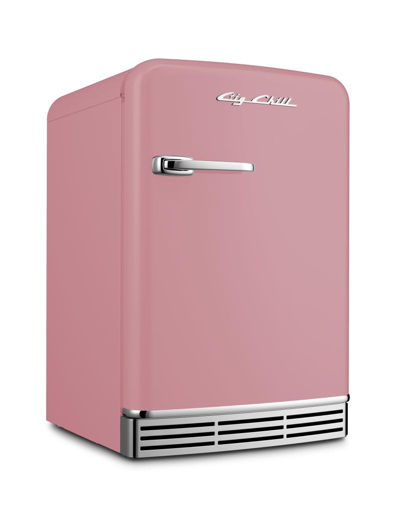 Mini Refrigerator in Custom Color #3015 Light Pink