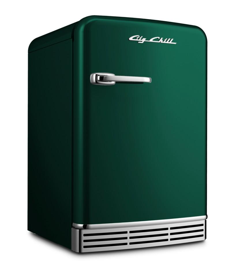 Mini Refrigerator in Custom Color 6005 Moss Green