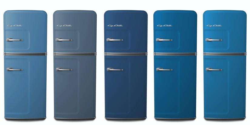 Custom Colors: 5024 Pastel Blue, 5014 Pigeon Blue, 5023 Distant Blue, 5015 Sky Blue, 5012 Light Blue