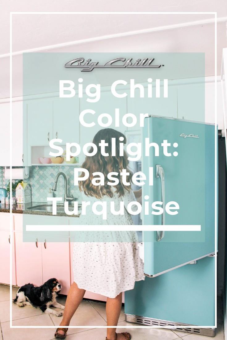 Big Chill Spotlight: Premium Color in Pastel Turquoise