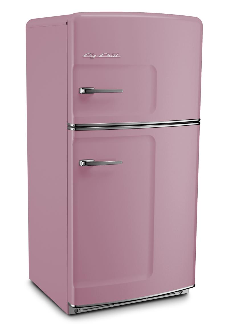 Retro Original Refrigerator in Custom Color 4009 Lavender