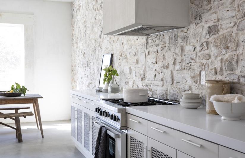 30″ Pro Stove in Classic White