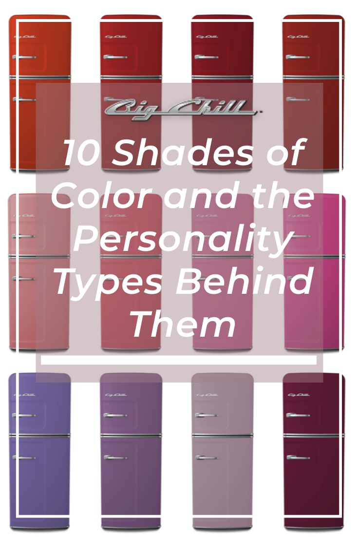 10 Shades of Color and the Personality Types Behind Them