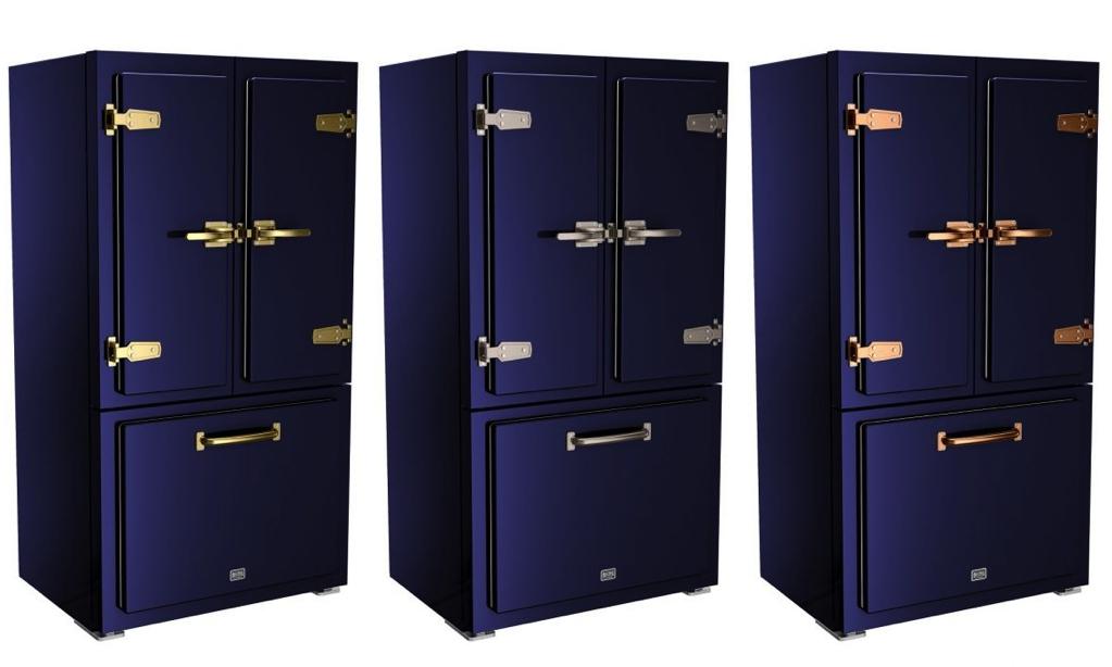 Big Chill Classic Refrigerator in Cobalt Blue