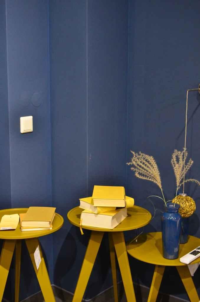 Walls in Cobalt Blue