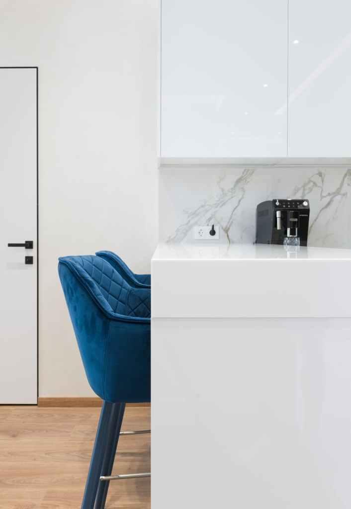 Furniture in Cobalt Blue