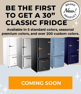 Pre-Order New Classic Fridge Mobile Banner